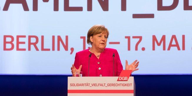 Angela Merkel beim 21. OBK
